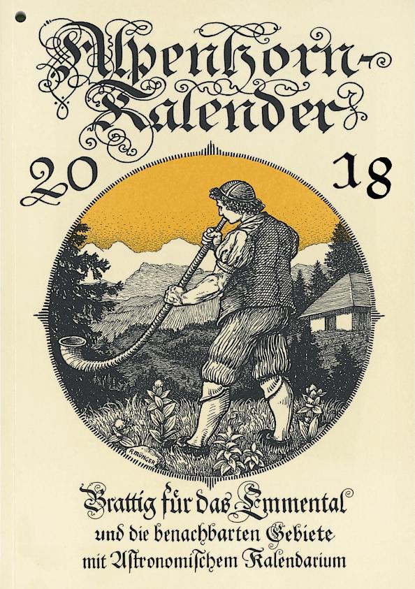 Alpenhorn Kalender 2018