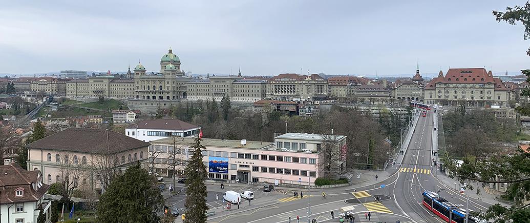 Stadt vom historischen Museum aus