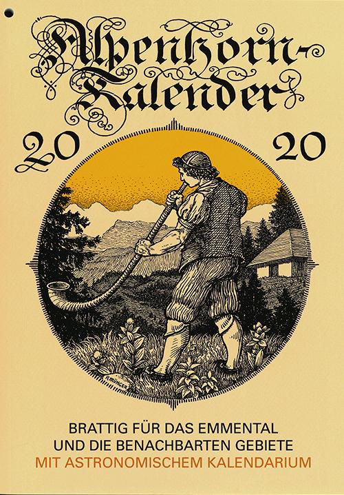Alpenhorn Kalender 2020
