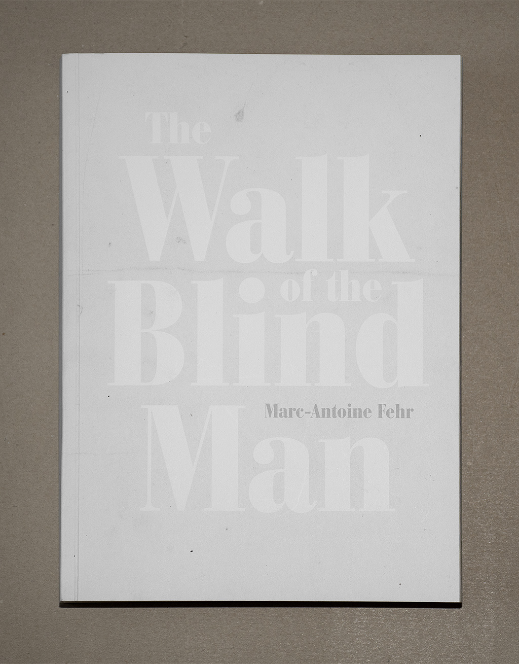 The Walk of the Blind Man